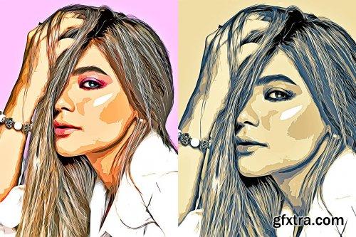 CreativeMarket - Cartoon Yourself Photoshop FX 6428204