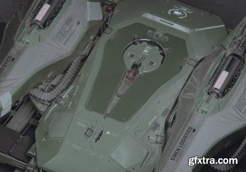 Military Concept Drone 3D Model