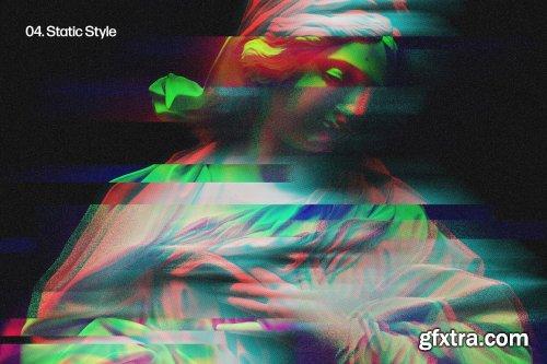 CreativeMarket - Glitch Studio Photo Effects 6526342