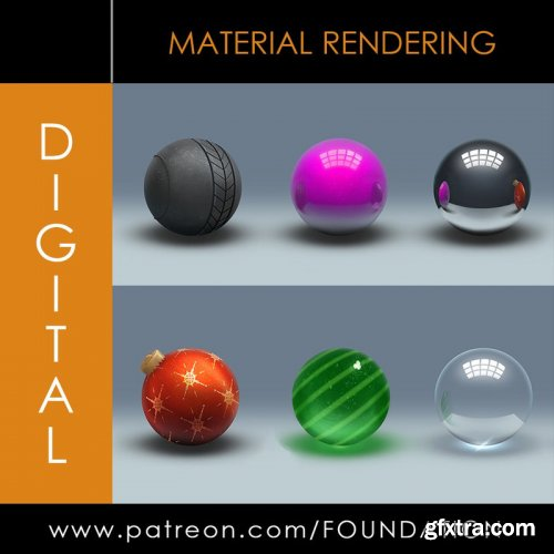 Foundation Patreon - Material Rendering 1 & 2