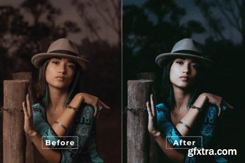 Coloring Tone Photoshop Action