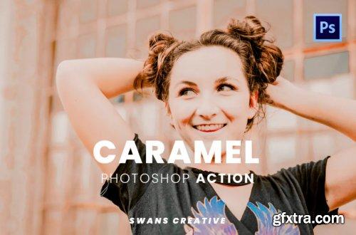 Caramel Photoshop Action