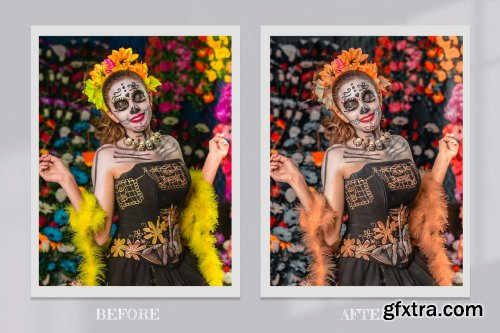 CreativeMarket - Dia de Los Muertos Lightroom PS LUTs 6525741