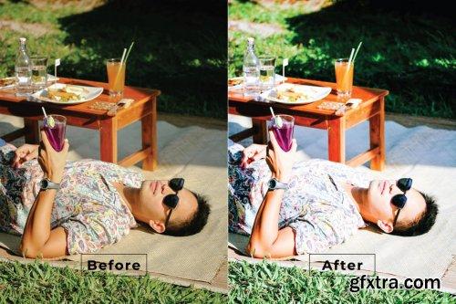 Summer Movie Photoshop Action