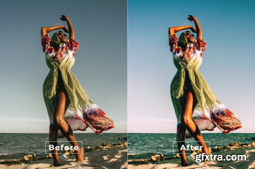 Clean Minimalist Photoshop Action
