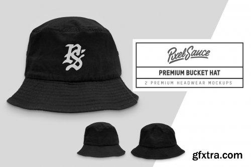 CreativeMarket - Premium Bucket Hat Mockups 6321758
