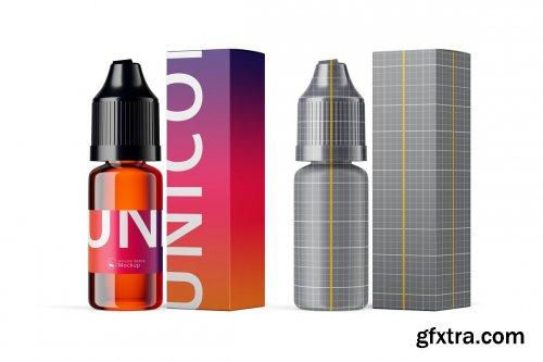 CreativeMarket - Unicorn Bottle Mockup 6360457