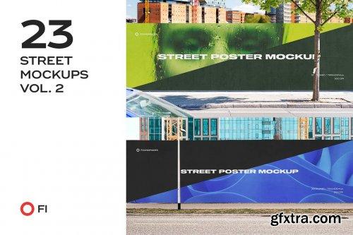 CreativeMarket - Street mockup template bundle vol.2 6524058