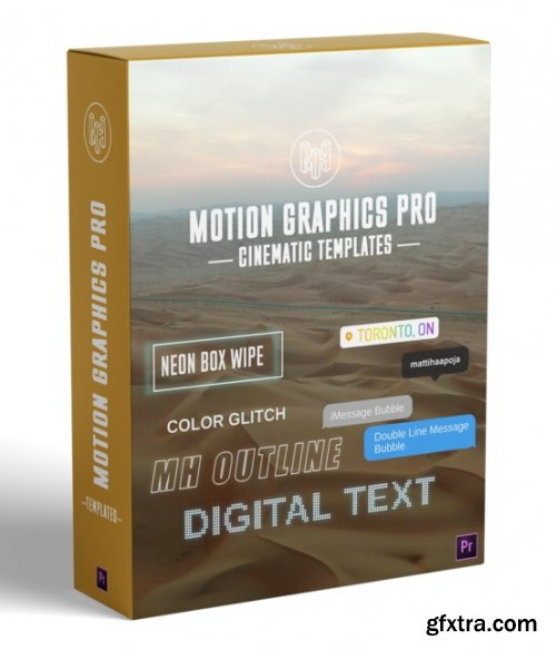Matti Haapoja - MH Motion Graphics Pro