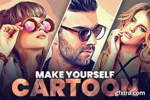 CreativeMarket - Make Yourself Cartoon 6454690