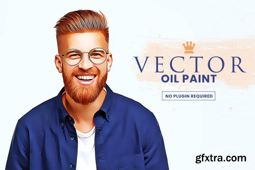 CreativeMarket - Vector Oil Painting 6477729