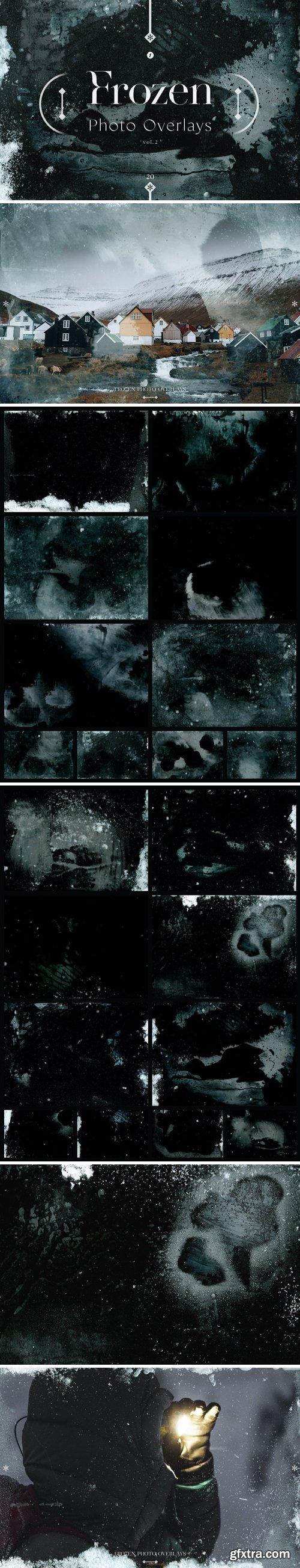 Frozen Photo Overlays Vol. 2