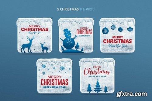 Christmas Ice Banners