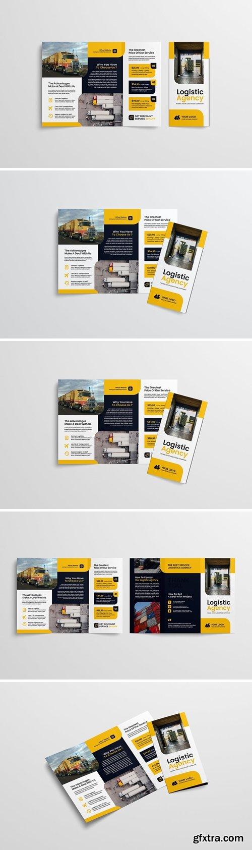 Logistic Trifold Brochure