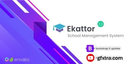 CodeCanyon - Ekattor v7.3 - School Management System - 6087521 - NULLED