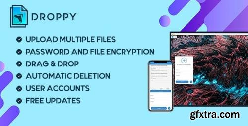 CodeCanyon - Droppy v2.3.7 - Online file transfer and sharing - 10575317 - NULLED