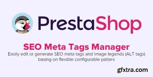 SEO Meta Tags Manager v1.7.5 - PrestaShop Module