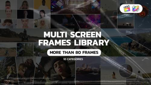 Videohive - Multi Screen Frames Pack for Apple Motion and FCPX - 34150624 - 34150624