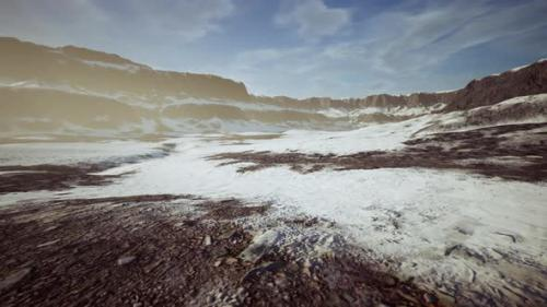 Videohive - Rocks and Hills Under the Snow - 34137020 - 34137020