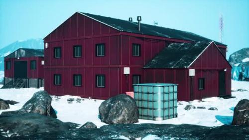 Videohive - Antarctic Bases in the Antarctic Peninsula - 34137031 - 34137031