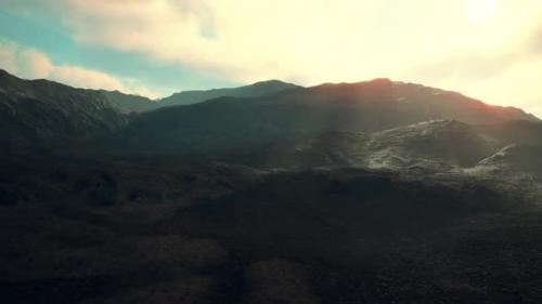 Videohive - Mountains of Afghanistan at Sunset - 34137039 - 34137039