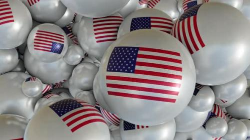 Videohive - American Flag Transition - 34145697 - 34145697