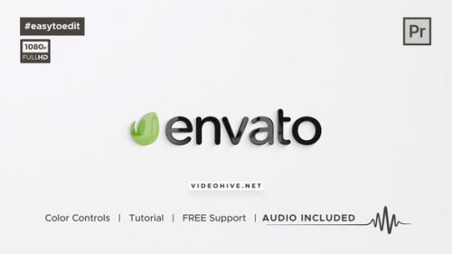 Videohive - Clean Logo Reveal - 34193190 - 34193190