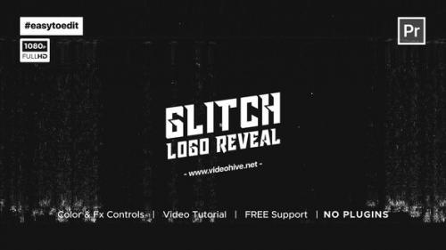 Videohive - Fast Glitch Logo Reveal Template - 34195503 - 34195503
