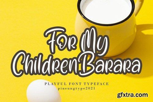 Christmas Mitchell Font