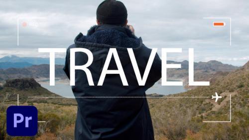 Videohive - Travel Vlog Intro 3 in 1 - 34146996 - 34146996