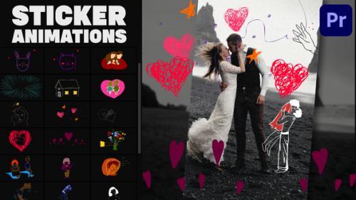Videohive - Love Lyric Animations 02 | Premiere Pro MOGRT - 34162306 - 34162306