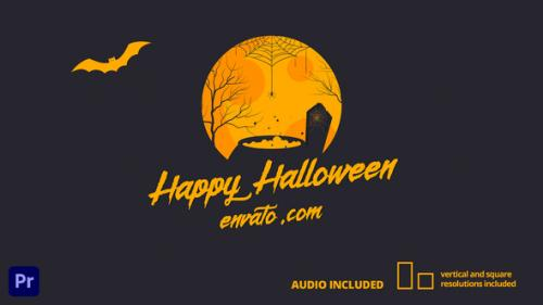 Videohive - Halloween Card | For Premiere Pro - 34162783 - 34162783