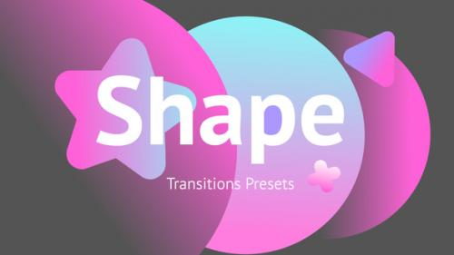 Videohive - Shape Transitions Presets - 34181026 - 34181026