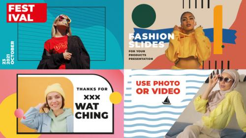 Videohive - Fashion Slideshow || FCPX - 34201990 - 34201990