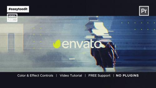 Videohive - VHS Glitch Intro - 34228948 - 34228948