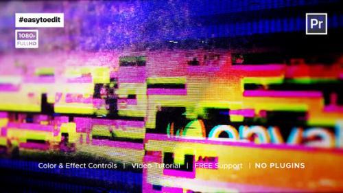 Videohive - Screen Glitch Logo - 34229091 - 34229091