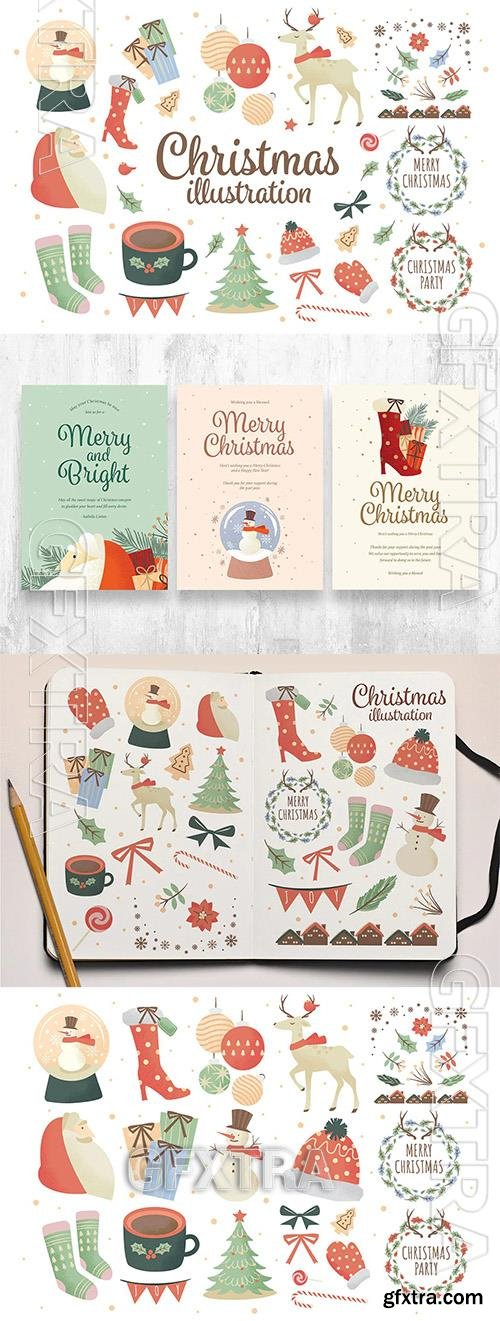 Christmas Clipart Illustrations RWXDD39