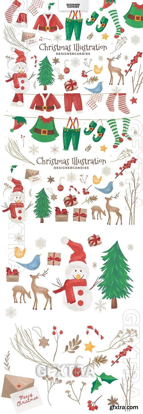 Christmas Vector Graphic Pack 2M2HQ9P