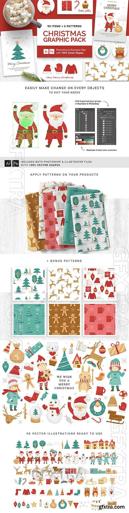 Christmas Vector Graphics & Clipart MH2WL2F