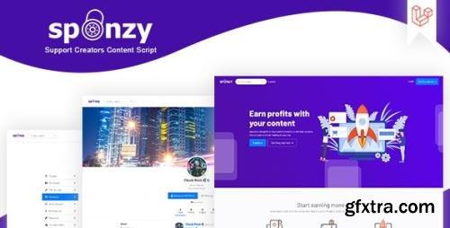 ThemeForest - Sponzy v2.5 - Support Creators Content Script - 28416726