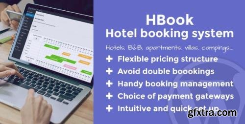 CodeCanyon - HBook v2.0.2 - Hotel booking system - WordPress Plugin - 10622779 - NULLED