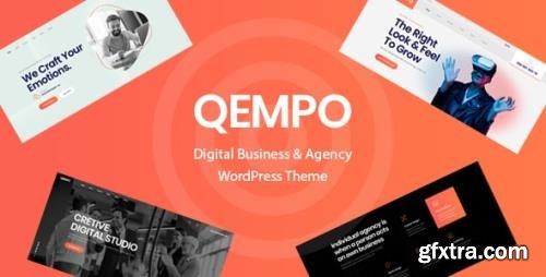 ThemeForest - Qempo v1.1.9 - Digital Agency Services WordPress Theme - 33549980