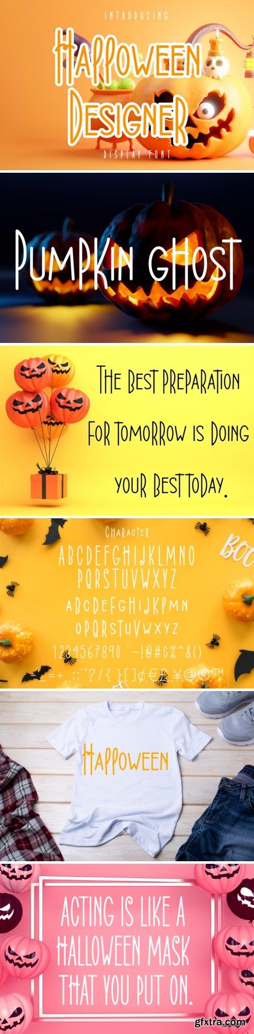 Halloween Designer Font