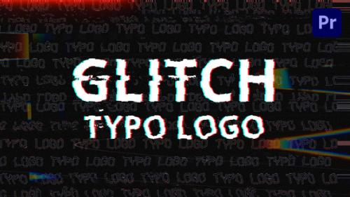 Videohive - Glitch Typo Logo | Mogrt - 34180713 - 34180713