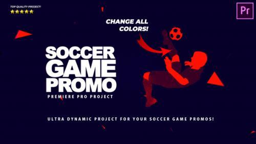 Videohive - Soccer Game Promo - Soccer Promotion Premiere Pro - 34193265 - 34193265
