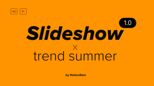 Videohive - Trend Summer Slideshow - - for Premiere Pro | Essential Graphics - 34200300 - 34200300