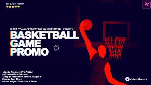 Videohive - Basketball Game Promo - Basketball Intro Premiere Pro - 34205080 - 34205080
