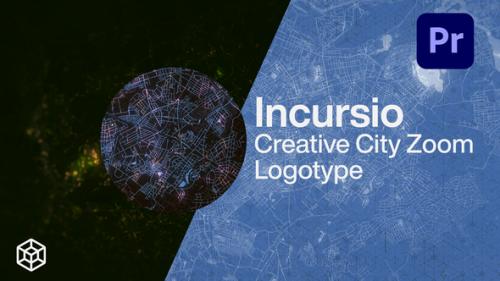 Videohive - Incursio - Creative City Zoom Logo - 34207749 - 34207749