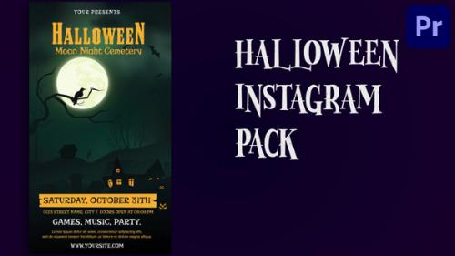 Videohive - Halloween Party Instagram Story | Mogrt 173 - 34212866 - 34212866