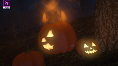 Videohive - Halloween Forest Logo - 34220966 - 34220966